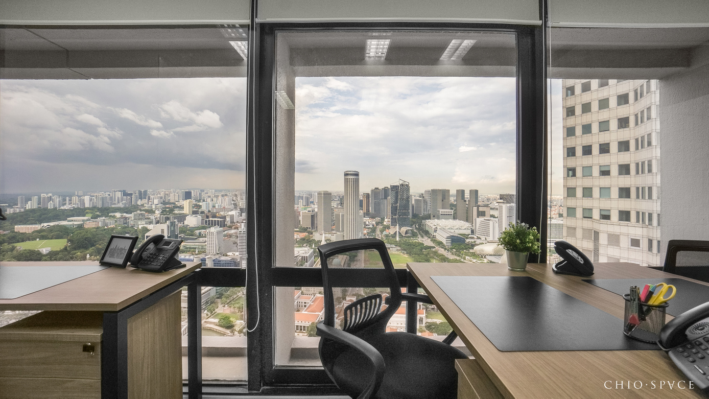 Serviced Office For Rent OCBC Centre L46 SpaceSpace 3D