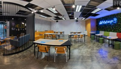 6 Raffles Quay Level 16 – Serviced Offices For Rent 3D Model
